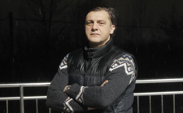 Safet Hadžić je sredi pomladi prevzel Olimpijo, sezono rešil s pokalno lovoriko in si prislužil popolno zaupnico predsednika Milana Mandarića. FOTO: Mavric Pivk/Delo