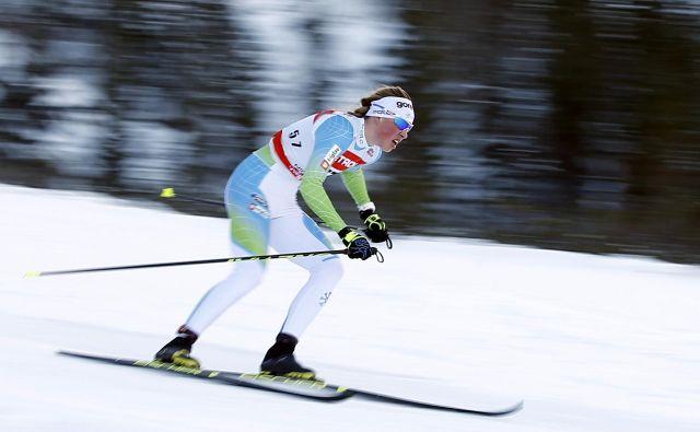 Anamarija Lampič je bila presenečena nad razpletom tekme na 10 km. FOTO: Matej Družnik/Delo