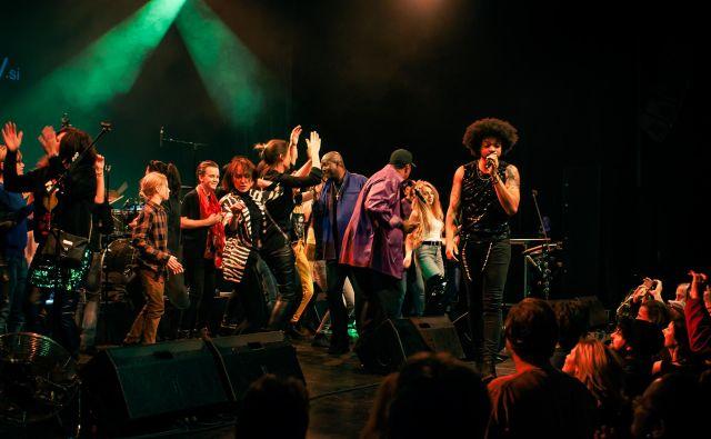 <br /> The New Power Generation so navdušili ljubljansko občinstvo.<br /> Foto Jure Matoz