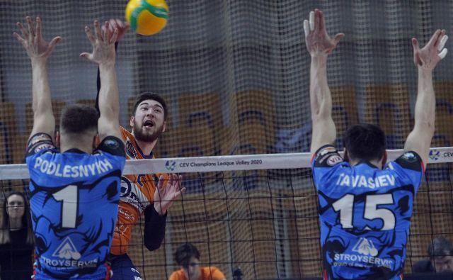 Božidar Vučićević je bil spet najučinkovitejši zmaj. FOTO: Mavric Pivk/delo