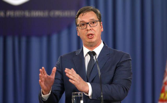 Kdo bo prišel na oblast po Aleksandru Vučiću? FOTO: Reuters