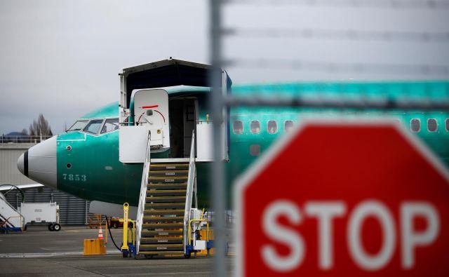 Iz ameriške Zvezne uprave za zračni promet (FAA) so prejšnji teden sporočili, da pred letom 2020 ne bodo dovolili vrnitve letal 737 max v promet. FOTO: Lindsey Wasson/Reuters