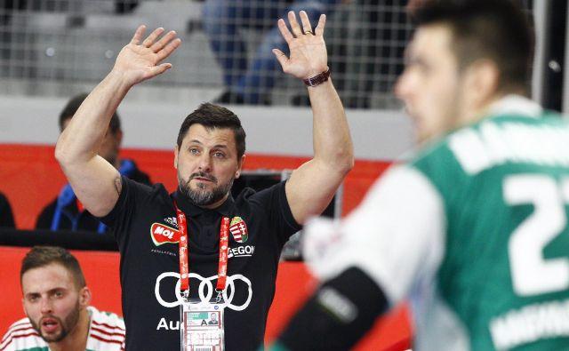 Ljubomir Vranješ je z Madžarsko lani izločil Slovenijo v kvalifikacijah za SP. FOTO: Reuters
