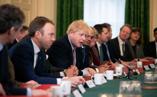 Johnsonova vlada želi z Brusljem do konca prihodnjega leta skleniti trgovinski dogovor. FOTO: AFP
