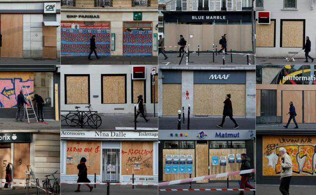 Strah pred protestniškim besnenjemFOTO: Afp