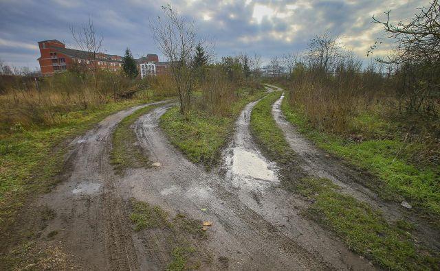 Javna dražba za zemljišča ob URI Soča bo 23. januarja. FOTO: Jože Suhadolnik/Delo