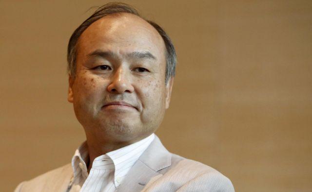 Masayoshi Son svetuje naložbe v avtonomna vozila. FOTO: Reuters