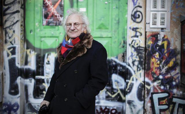 Siegfried Zielinski, profesor medijske arheologije. FOTO: Uroš Hočevar