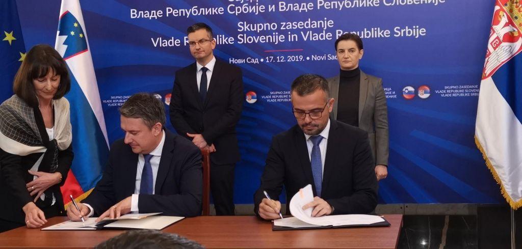 Zadovoljna Šarec in Brnabićeva ocenila, da so odnosi med državama nanajvišji možni ravni