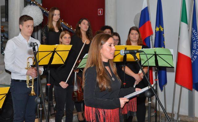 Nova rektorica Univerze na Primorskem Klavdija Kutnar je ponosna na dediščino svojega predhodnika Dragana Marušiča. FOTO: Univerza na Primorskem