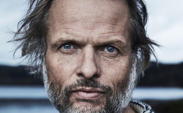 Erling Kagge, prvi človek, ki je dosegel vse tri skrajne točke Zemlje: severni in južni pol ter vrh Mount Everesta FOTO: Simon Skreddernes