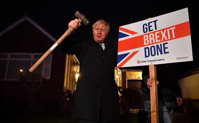 Britanski premier Boris Johnson. FOTO: Reuters