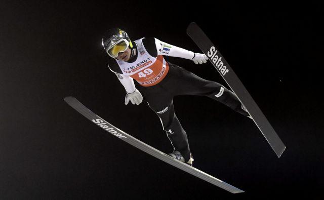 Anže Lanišek se je na začetku sezone že naučil nekaj novega. FOTO: Reuters