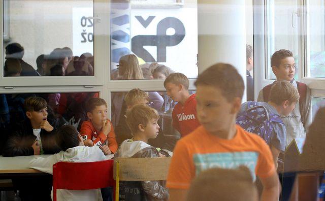 V 21 oddelkih na OŠ Preska je v tem šolskem letu 463 učencev. FOTO: Tomi Lombar/Delo