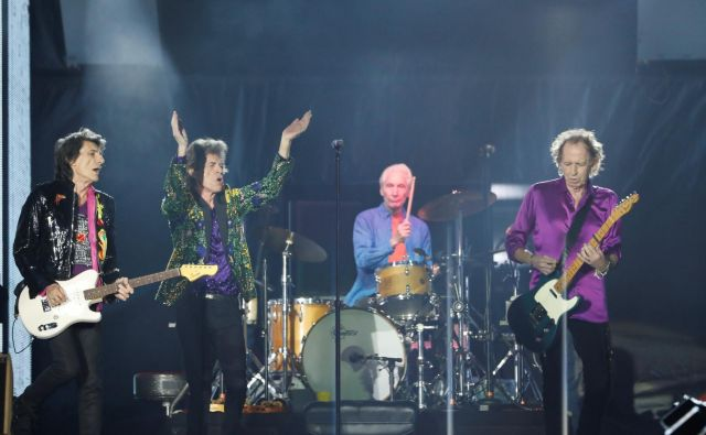 Rolling Stones so eden največjih britanskih glasbenih izvoznih artiklov. Foto Reuters