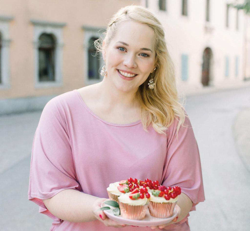 FOTO:Nina Kastelic: To, da znam peči, je le desetina vsega