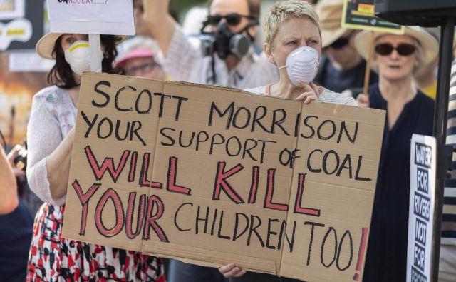 Avstralija je ena glavnih onesnaževalk. FOTO: Wendell Teodoro/Afp