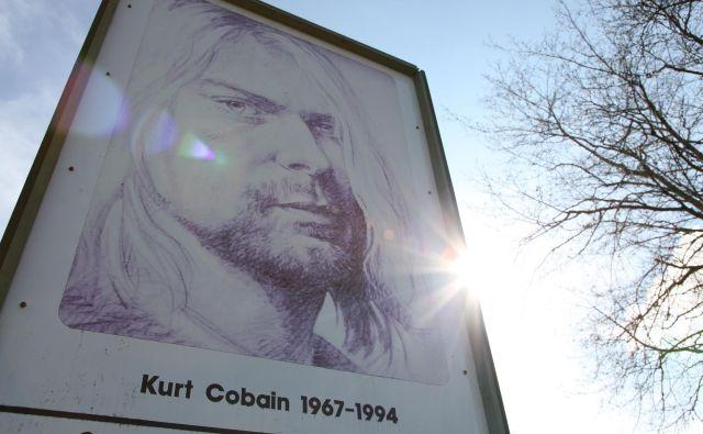Letos 5. aprila je minilo 25 let od smrti, pravzaprav samomora, Kurta Cobaina. FOTO: Sebastian Vuagnat/AFP