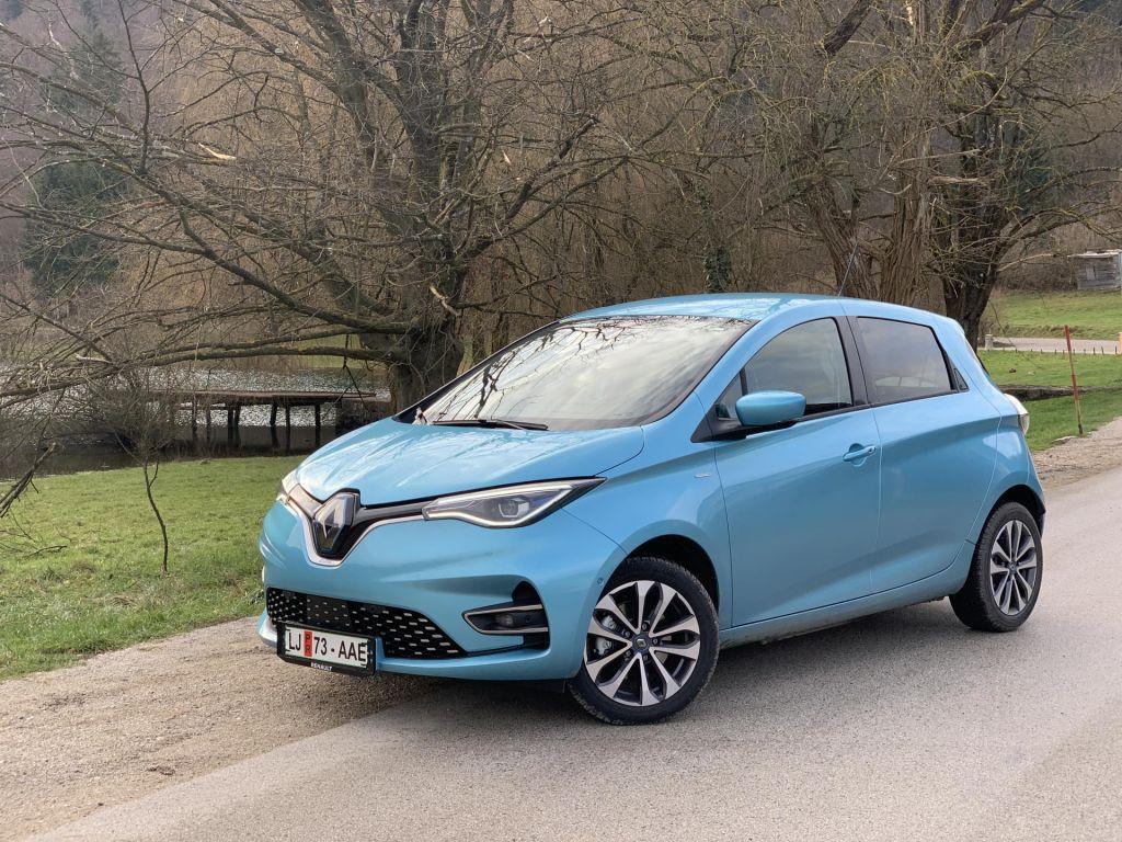 FOTO:Renault zoe z daljšim dosegom