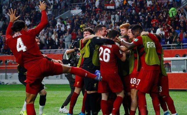 Za Liverpool je to sploh prvi naslov v tem tekmovanju. FOTO: Ibraheem Al Omari/Reuters