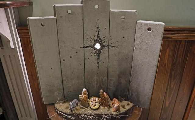 'Brazgotina Betlehema'. FOTO: Ahmad Gharabli/AFP