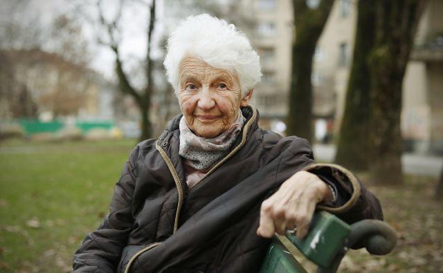 Nada Čučnik Majcen je bila dolgoletna ravnateljica Centralne tehnične knjižnice. FOTO: Leon Vidic/Delo