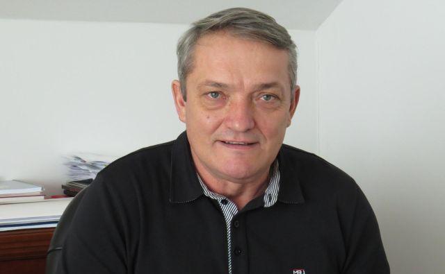 Janko Cerkvenik, predsednik Gasilske zveze Slovenije FOTO: Bojan Rajšek/Delo