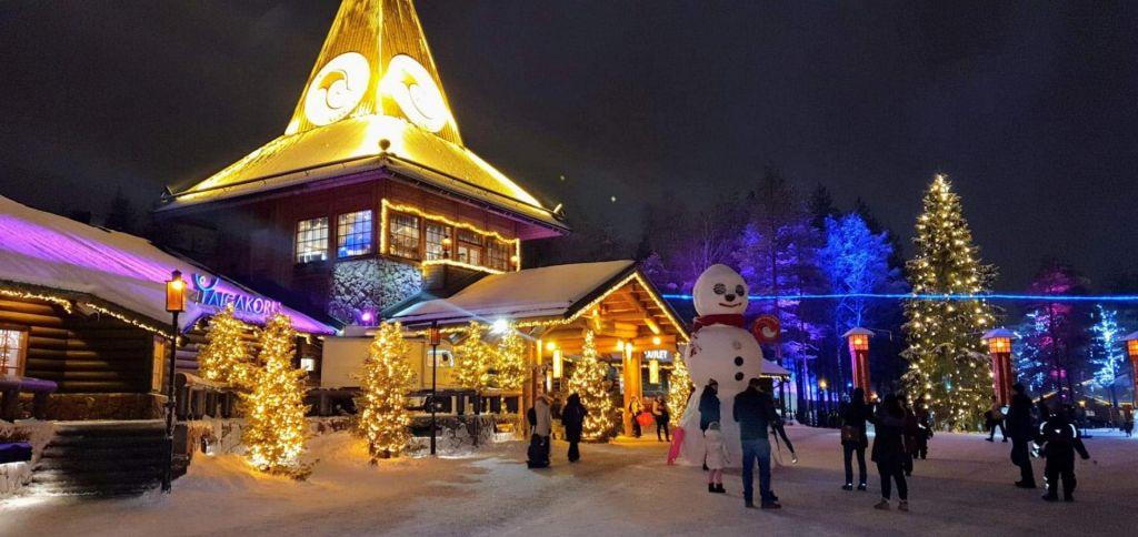 FOTO:Vse se začne v Rovaniemiju