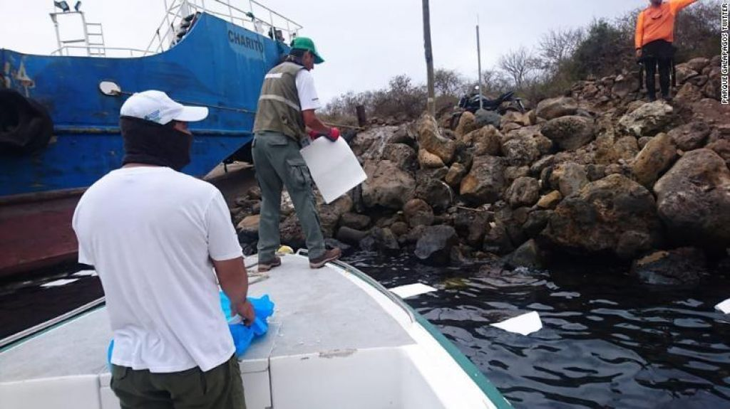 Razlita nafta ogroža otočje Galapagos