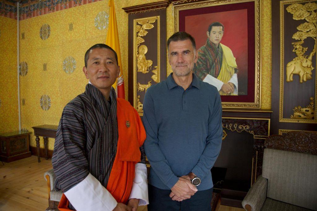 FOTO:Bruto družbena sreča je merilo razvoja v Butanu, kamor ne more vsak