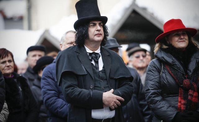 Bojan Bešter, najbolj trenutno znani 'Prešeren'. FOTO: Uroš Hočevar