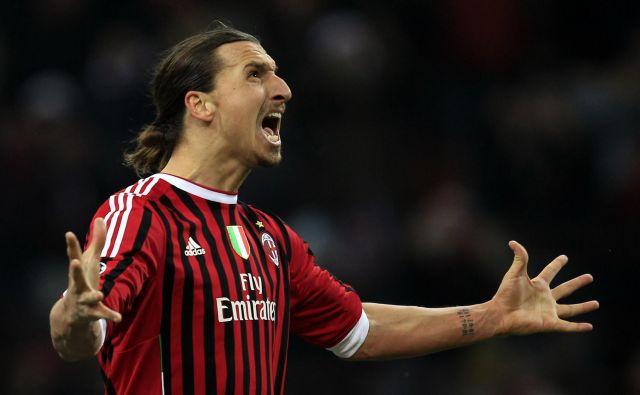 Zlatan Ibrahimović bo spet Milanov rdeče-črn. FOTO: Reuters