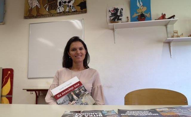 V učilnici Anite Mirjanić na osnovni šoli Gradec v Litiji vlada optimizem. FOTO: osebni arhiv