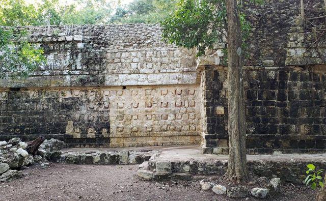 Kulubá je pomembno najdišče majevske kulture, v času Majev povezano z mestoma Ek' Balam in Chichen Itza. FOTO: Nacionalni inštitut za antropologijo in zgodovino Ciudad de México/Reuters