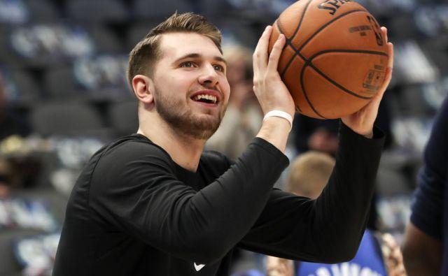 Luka Dončić bi v novem letu lahko privč postal član slovenske olimpijske odprave. FOTO: Usa Today Sports