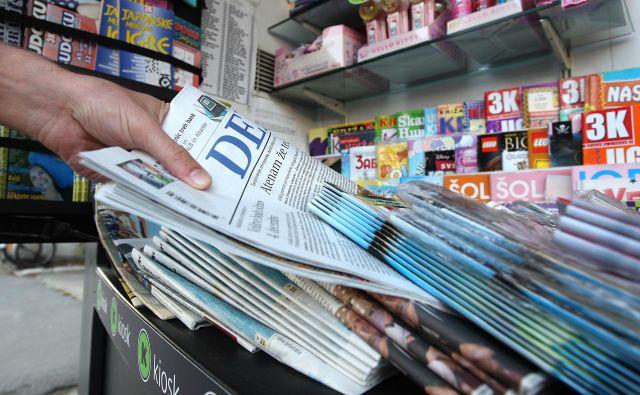 Slovenija uvaja posebno znižano, 5-odstotno stopnjo DDV, ki velja za knjige, časopise in periodične publikacije.<br /> Foto Igor Zaplatil