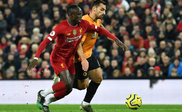 Sadio Mane je leto 2019 zaokrožil z golom in drugim najboljšim dosežkom: neposredno je sodeloval pri 30 golih, 24 jih je zabil, pri šestih je bil podajalec. Boljši je bil le James Vardy (34). FOTO: AFP