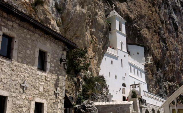 Samostan Ostrog, Foto Blaž Samec/Delo