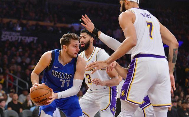 Luka Dončić je bil v Los Angelesu razočaran nad svojo igro. FOTO: USA Today Sports