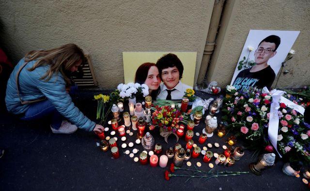 Umor preiskovalnega novinarja Jana Kuciaka in njegove zaročenke je lani pretresel Slovaško. FOTO: David W Cerny/Reuters
