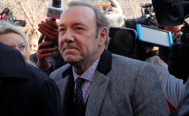 Težko je verjeti, da si bo igralska kariera Kevina Spaceya po hudih obtožbah še kdaj opomogla. Foto Reuters