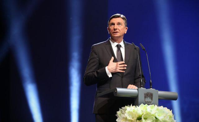 Kakšno bo prihodnje leto, ne ve nihče, je dejal Borut Pahor. FOTO: Jure Eržen/Delo