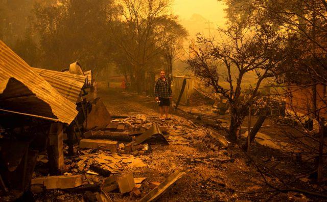 Kriza je usmerila pozornost na podnebne spremembe.FOTO: Sean Davey/Afp