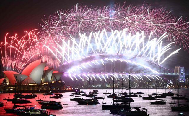 Ikonična fotografija ognjemeta nad Sydneyjem. FOTO: Peter Parks/Afp
