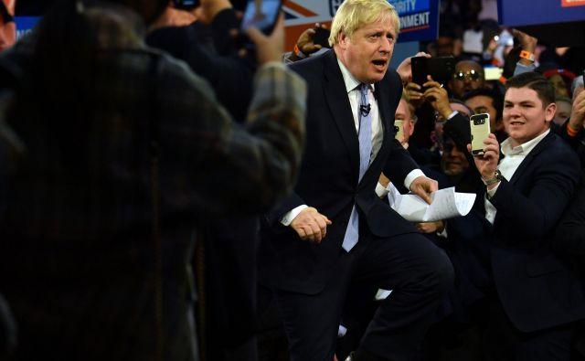 Vidni evropski politiki Johnsonovih besed ne jemljejo preveč resno in jih razumejo predvsem kot politična dejanja, ki bodo prej ali slej padla na realna tla. Toda obstaja možnost, da se motijo. Foto: AFP