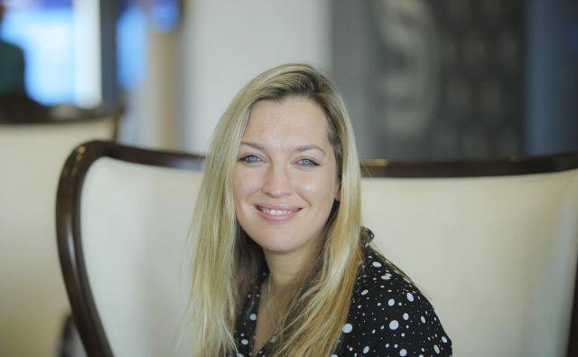 Sally Burt-Jones je direktorica poslovnega razvoja v podjetju Viber. Foto Jože Suhadolnik