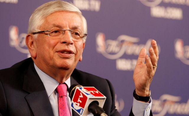 David Stern je bil ikona lige NBA. FOTO: Reuters
