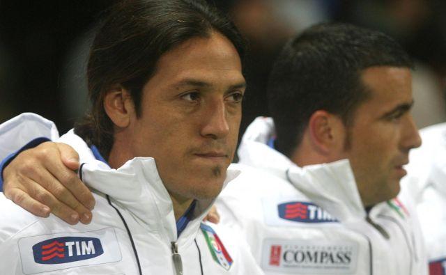 Mauro Camoranesi je sprejel zanj sila nenavaden izziv v slovenski ligi. FOTO: Reuters