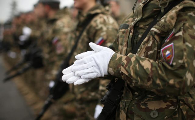 Kakšno vojsko si lahko privoščimo? FOTO: Jure Eržen/Delo