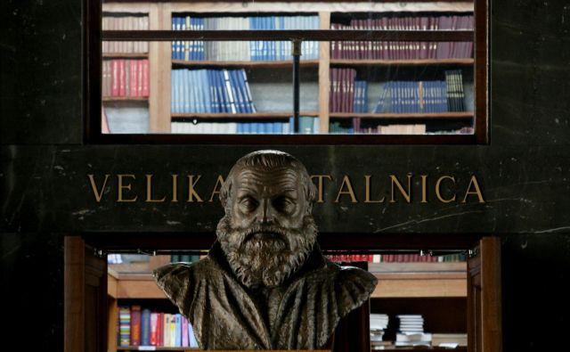 dr. Borut Vrščaj: »Primož Trubar je verjetno odlično pisal in govoril nemško, a zagotovo neizmerno ljubil slovenščino in 'moje lube Slovence'.« Foto Roman Šipić